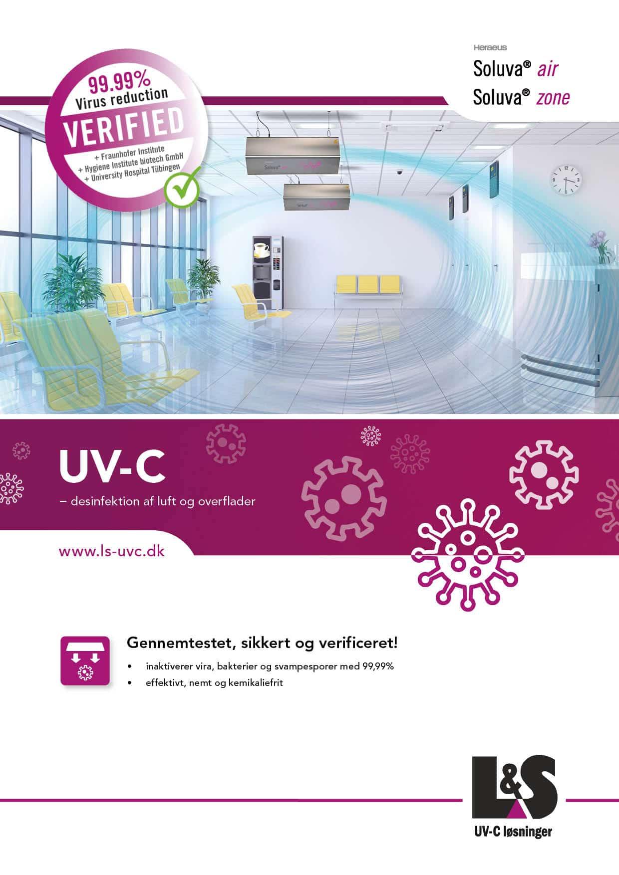 Soluva-UVC-lys-Disinfektion-Cleanair-Ventilation-Lund-Soerensen-AS
